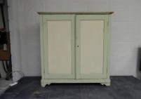 Painted Pine Linen Cupboard