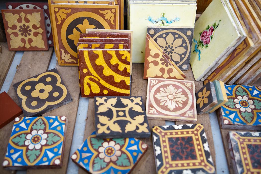 Encaustic Floor Tiles Va Vintage Industrial And Decorative