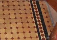 Original Edwardian Geometric Floor