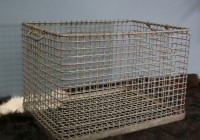 Vintage factory basket