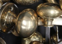 Original Brass Door Handles