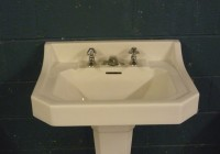 French Sink & Pedestal