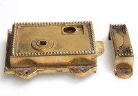Regency Brass Rim Latch