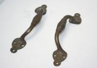 Original Decorative Brass Pull Handles