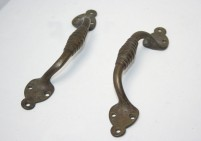 Original Decorative Brass Pull Handles