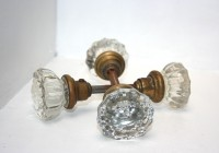 Vintage Decorative Glass Door Handles