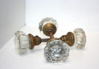 Vintage Decorative Glass Door Handles