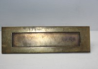 Traditional Brass Letter Plate