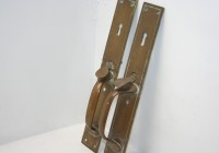 Brass Latch Handles