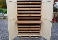 Reclaimed Pine Museum Cabinet