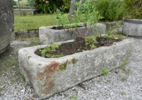 Reclaimed garden Stone Trough